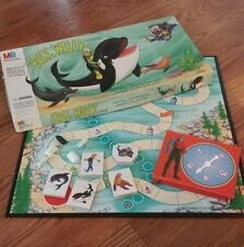 Free Willy (Board Game, 1995) animated series Rockland Stone kids cartoon RARE