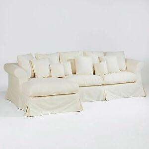 xxl sofa tres neu ecksofa hussen marken hussensofa uvp 2498 reduziert ebay. Black Bedroom Furniture Sets. Home Design Ideas