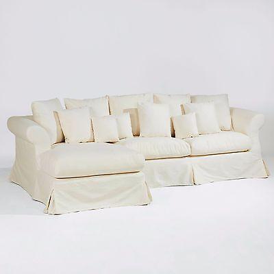 XXL Sofa TRES, NEU, Ecksofa Hussen Marken Hussensofa UVP 2498 € / REDUZIERT