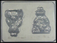 3d Cookie Monster Chocolate Candy Molds 154