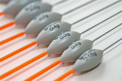 10 x Guru Pinger Wire Stem Pole Floats 0.15g,0.2g,0.3g,0.4g or 0.5g Available