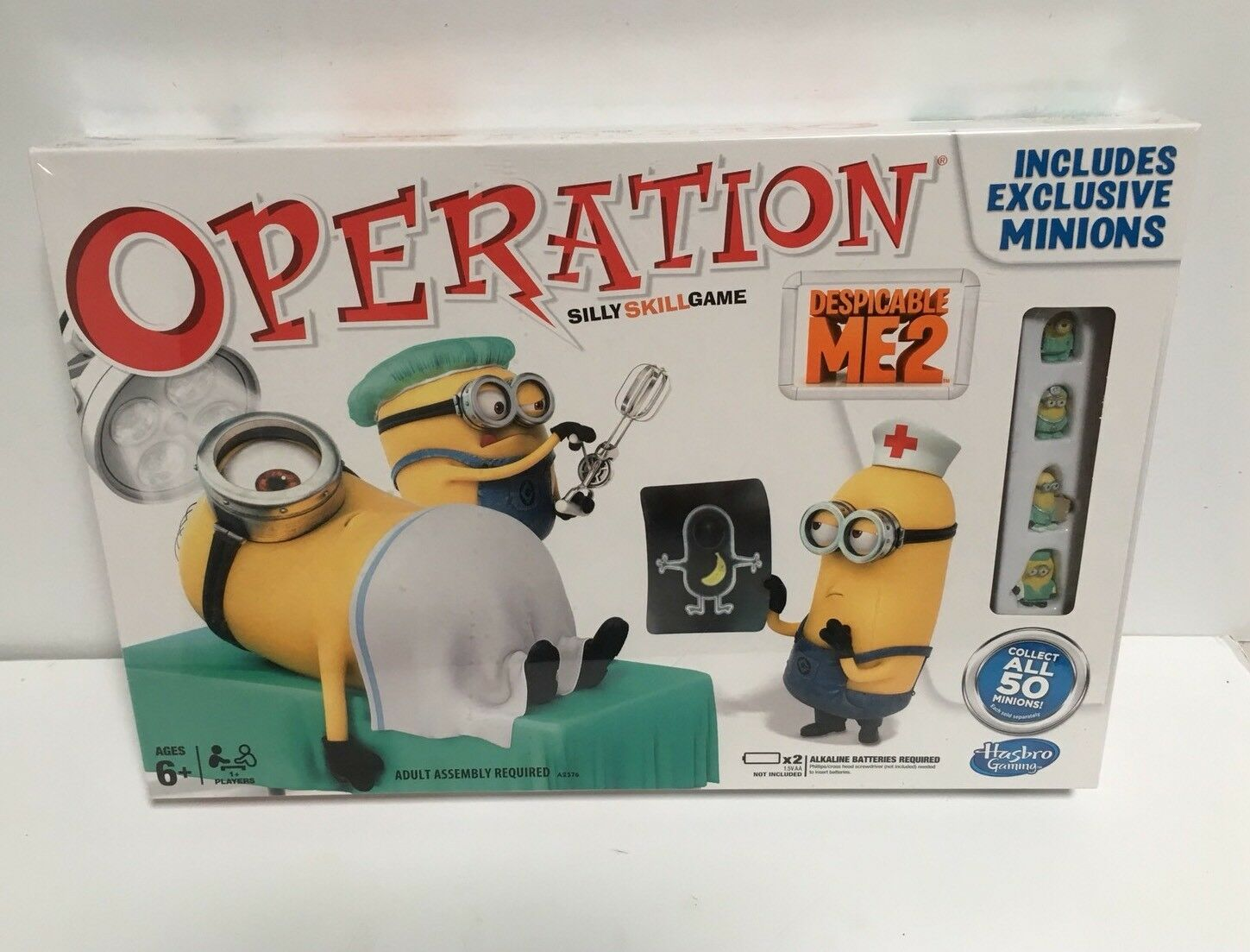 Despicable Me 2 Operation Board Game Brand New Factory Sealed
