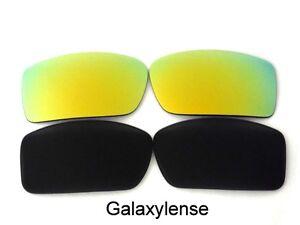 3d65fa4860 De Pares Polarizados 2 Gascan Repuesto Lentes Y Negro Galaxy Dorado Para  Oakley HwP5xvnzq