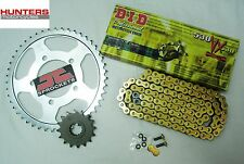 Triumph 955i Tiger (2001 to 2004) DID Gold X-Ring Chain & JT Sprockets Kit Set