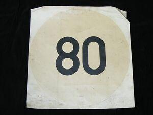 Original-GDR-Sticker-80KmH-Abziehbild