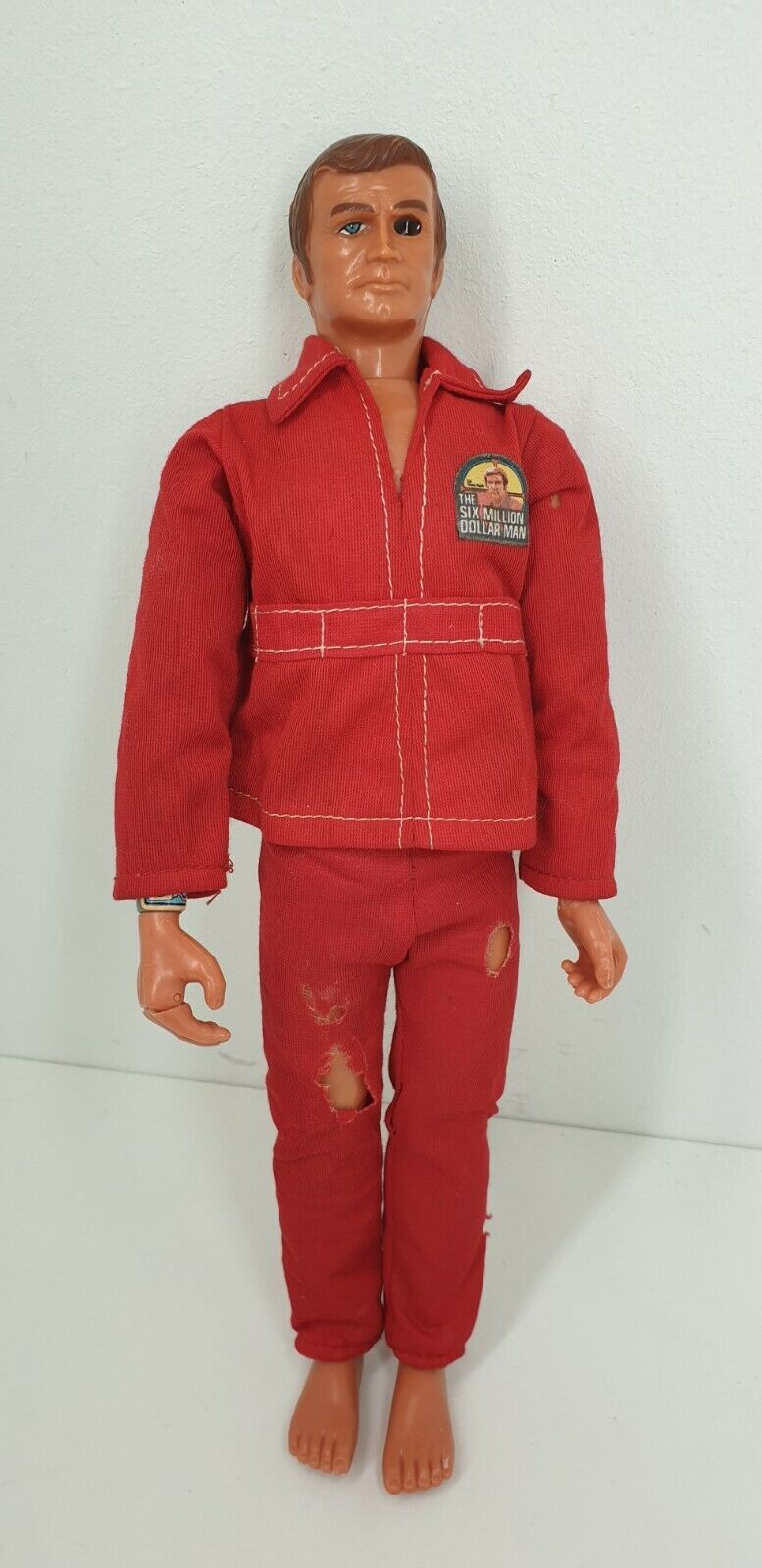 Jahr 1975 Kenner Six Million Dollar Man Wirkung figure Silber arm bionic man