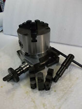 """3"""" ROTARY TABLE W/ 3 JAW CHUCK NEW BEST BUY IN TOWN DON'T MISS THIS DEAL"""
