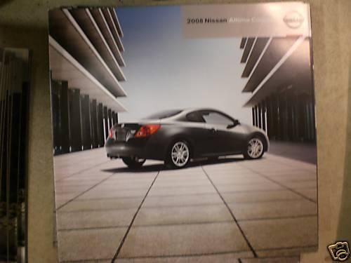 2008 08 Nissan Altima coupe promo sale brochure