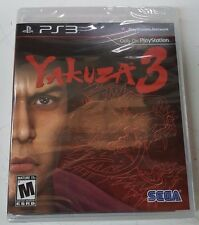 Yakuza 3 (Sony PlayStation 3, 2010 RE-PRINT) NEW FREE SHIPPING TO USA & CANADA