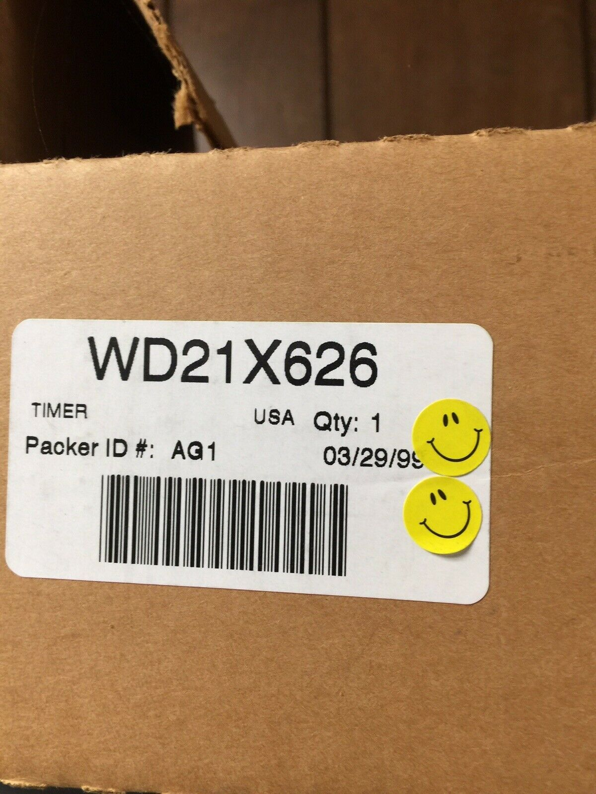 NEW GE DW Timer WD21X626, WD21X0626, 271598 SATISF GUAR & FREE EXPD SHIP