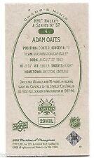 11/12 PARKHURST CHAMPIONS CHAMP'S MINIS GREEN BACK PARALLEL Adam Oates #4