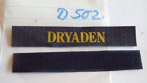 Abzeichen-Daenemark-Marine-Dryaden-gelb-auf-blau-1-Stueck-D502