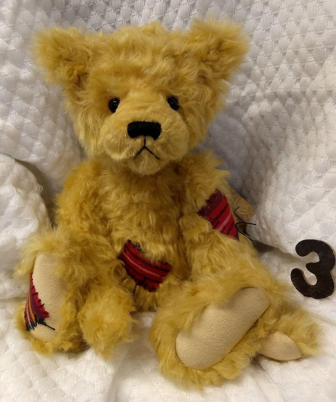 La saggezza da Charlie Bears 2016-NUOVA con etichetta + BAG-RIVENDITORE UFFICIALE-Bear foto  3