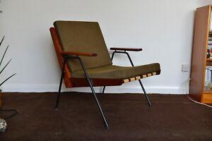 Robin Day Chevron Arm Chair. Hille. 50's retro armchair | eBay