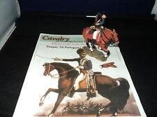 Del Prado Napoleonic Cavalry Issue 69 - Trooper 1st Portuguese Cavalry Broken ta