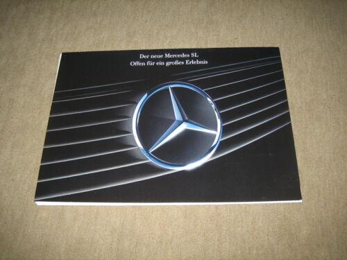 10 A4 Bilder Mercedes SL R129 Prospekt Mappe brochure von 2//1989