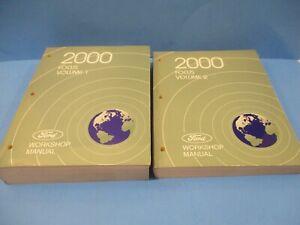 2000 FOCUS Service Shop Repair Workshop Manual VOLUME 1 AND 2 PAPER MANUALS