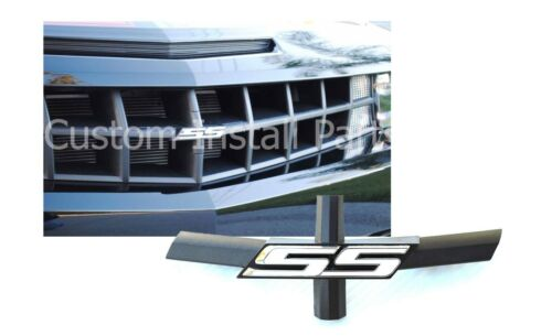 Grill Bowtie Delete White SS Emblem 10-13 Chevy Camaro Replacement for 92225495