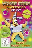 VOLKER ROSIN - KINDERDISCO - DAS ORIGINAL! - DIE DVD  DVD NEU