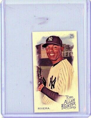 2019 Topps Allen /& Ginter #136 Mariano Rivera New York Yankees Baseball Card