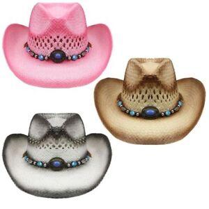 Caricamento dell immagine in corso Nuovo-Cowboy-Bambini-o-S-Cappello-54CM- Carta-Paglia- 89681c0c0748