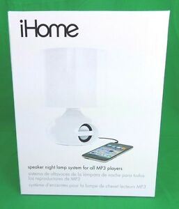 Image Is Loading IHome Combination Led Desk Lamp Amp Speaker System