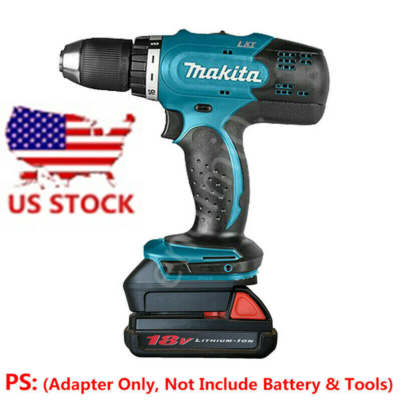Makita 18V Electric Drill Tools Adapter Work with Milwaukee