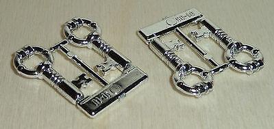 Nr.6810 Lego 40359c01 Schlüssel 2x2 in chrom silber