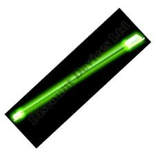 Car Decoration Green Neon Tube Strip  Extra Light 9""