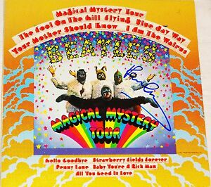 the beatles paul mccartney hand signed magical mystery tour album exact proof ebay. Black Bedroom Furniture Sets. Home Design Ideas