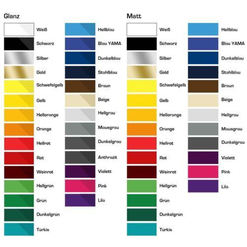 Modellbau Zierstreifen 1 mm verschiedene Farben für Auto Motorrad Wohnmobil