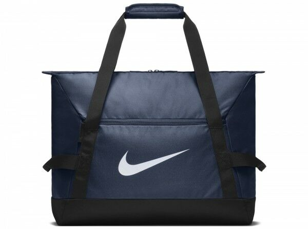 Nike oficial club equipo bolsa holdall Navy azul blancoo gimnasio escuela 48 litr