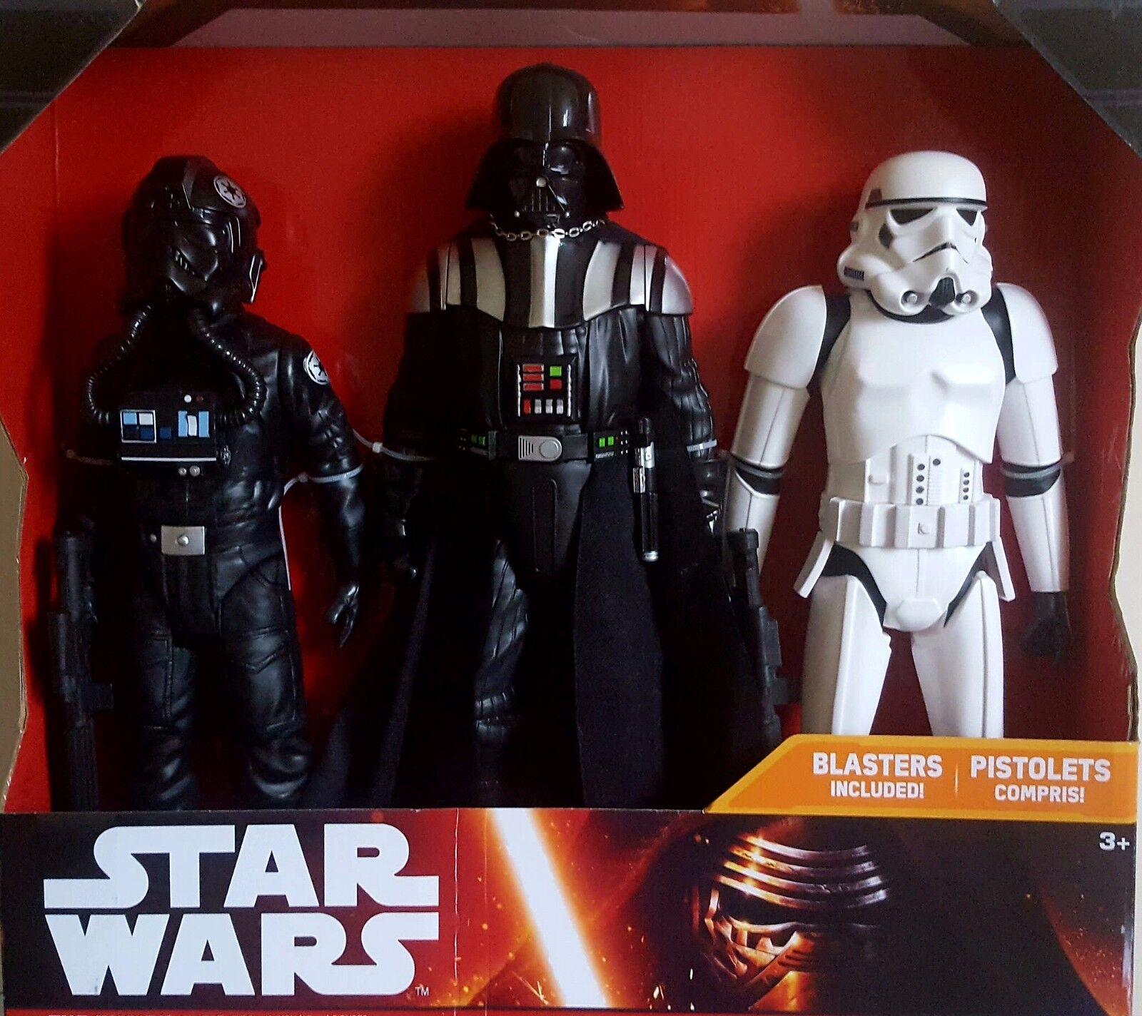 Star Wars Darth Vader Stormtrooper Tie Pilot Blasters/Sabre 18/20