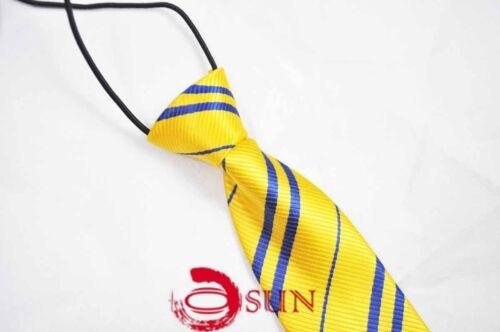 Harry Potter Costume Texudo Elastic Neck Tie Necktie Boy Kids Toddler 7-14 Years