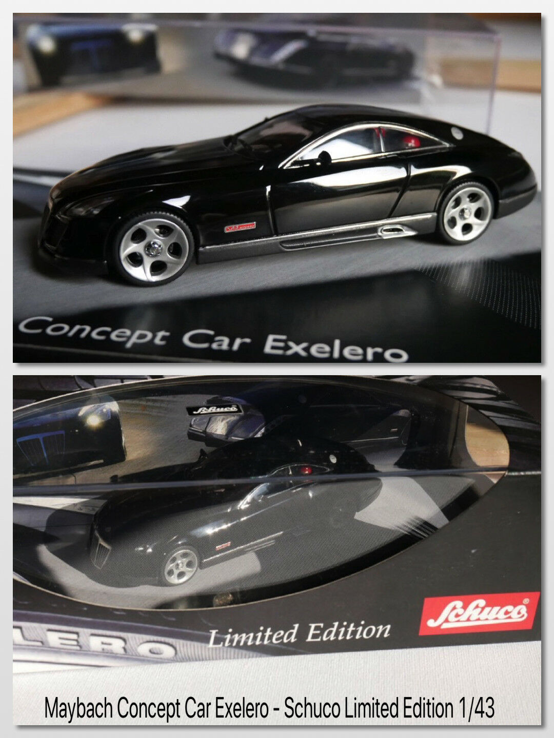 Maybach concept car exelero-schuco limited edition 1 43