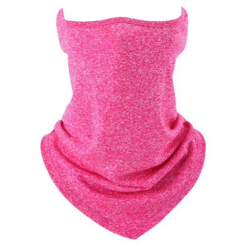 Summer Riding Fishing Solid Face Cover Scarf Neck Gaiter Sun UV HeadWear Tube