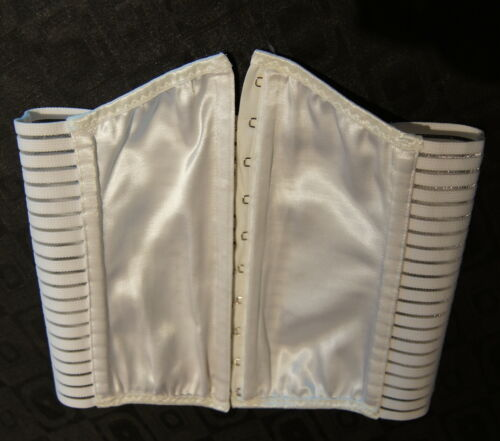 """Details about  /Everyday Corset /""""Inspired by Ruby/"""" in White"""