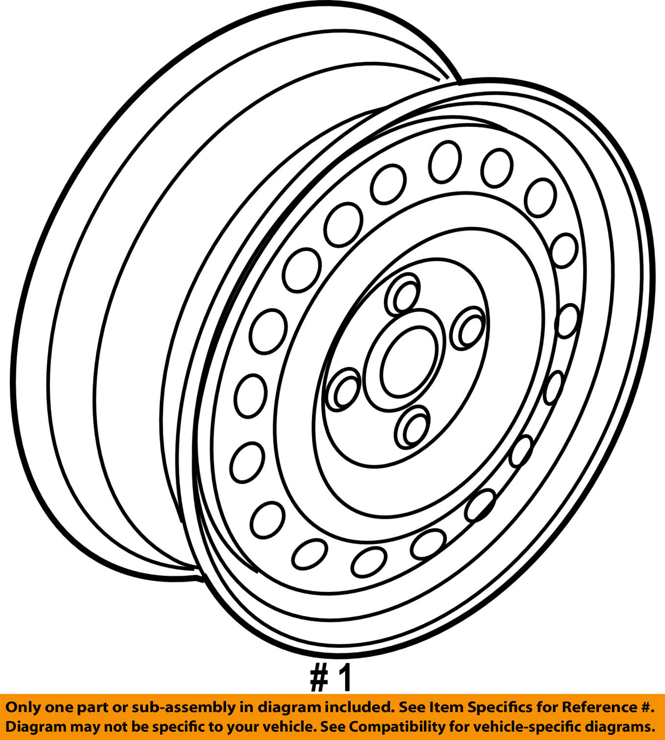 14 inch honda fit 2007 oem factory original steel wheel rim 63916a Honda Henderson NV norton secured powered by verisign