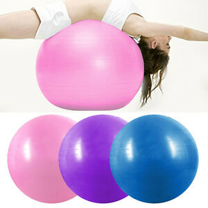Exercise-Fitness-Aerobic-Ball-65cm-Silver