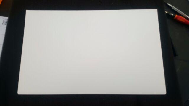 "Macbook air 11/"" A1370 A1465 lcd screen display back rear WHITE sheet behind LED"