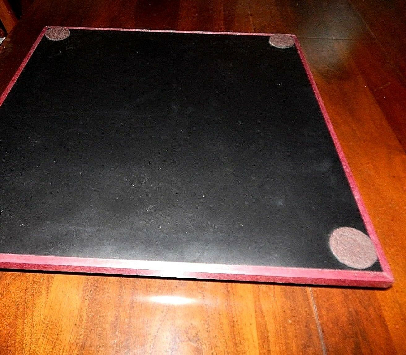 Handmade Chessboard Chessboard Chessboard by Brandon. Large Board with Exotic Woods. 2  squares. NEW  bd56fa
