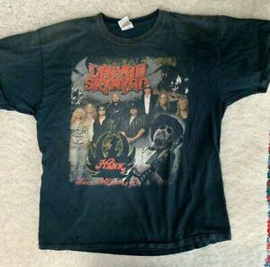 Hank Williams Jr T Shirt Lynyrd Skynyrd  XL Rowdy Frynds 2008 Bocephus