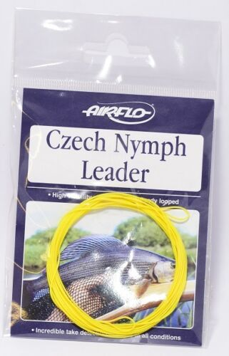 Airflo NEW Czech Nymph Leader Fly Fishing Leaders