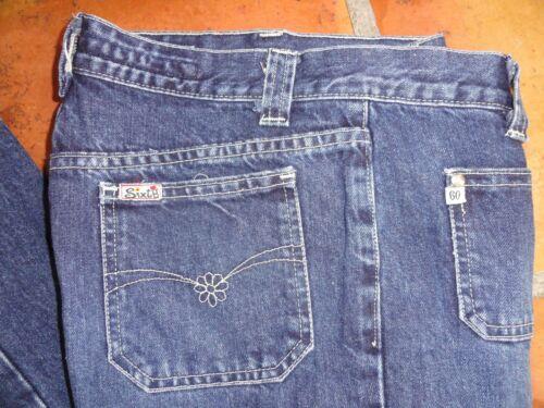 svasata Miss vita Dark Sixty a Taglia 33 Wash Inseam 29 Jeans Vintage Patch Pocket bassa rxrqBvZ