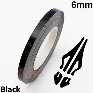 6mm-Self-Adhesive-Coachline-Pin-Stripe-Vinyl-Tape-Craft-Decal-Sticker-1-4-034-BLACK