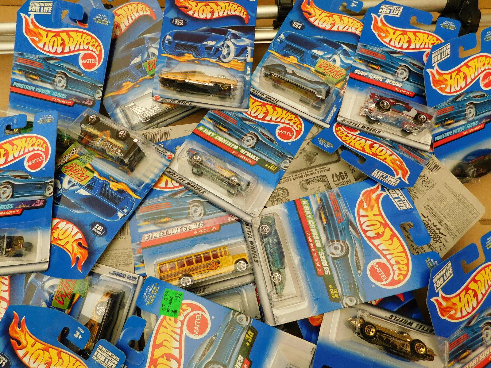 Hot Wheels 1 64 - USA Ware - Long Card - 5er 10er 20er 30er 40er 50er 100er Sets  | Outlet Store Online