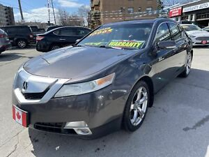 2010 Acura TL SHAWD PREMIUM SPORT NAVI BLUETOOTH CAMERA LOADED