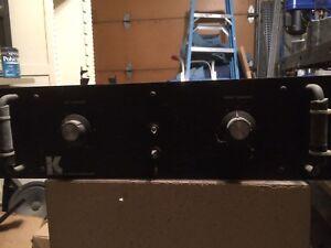 ObéIssant Kustom X Audio Amplificateur De Puissance-afficher Le Titre D'origine