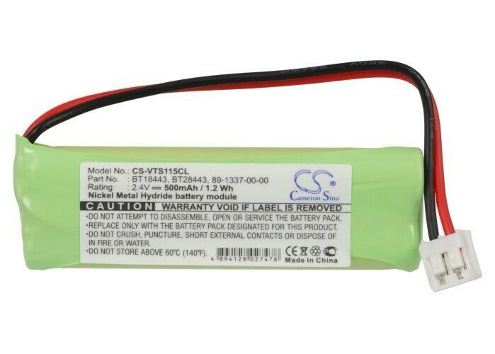 Cameron SinoCordless Phone BatteryCS-VTS115CL for  V TECH 89133700  etc.