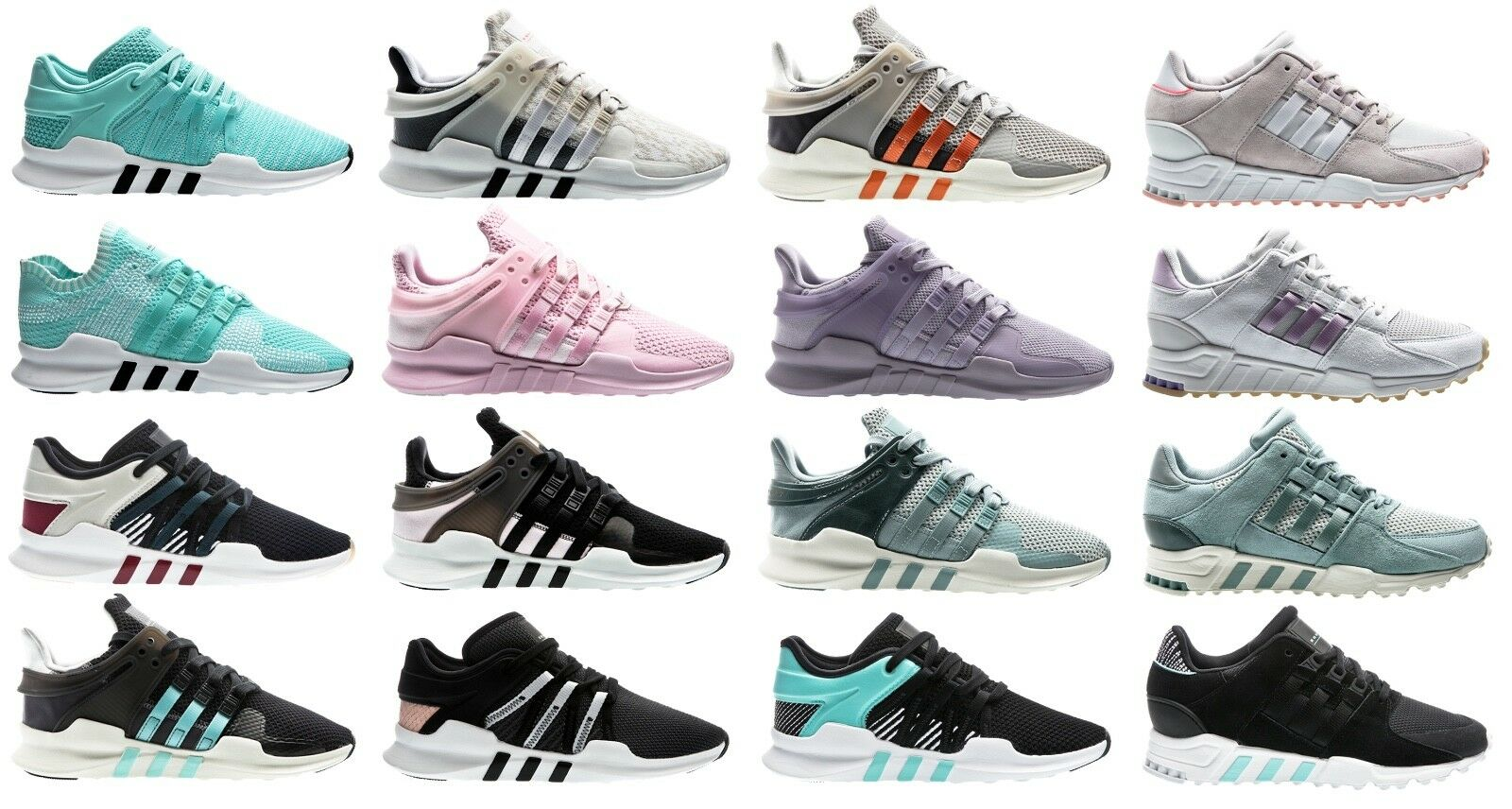 Adidas Originals EQT equipment W Women cortos señora zapatos Girl Shoes